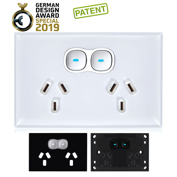 Opal Glass Look   Outlet and Switch