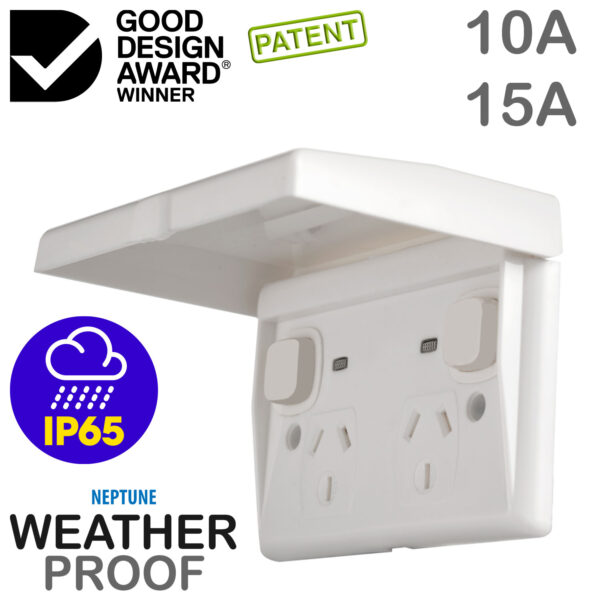 Weatherproof Outlet and Switch IP65