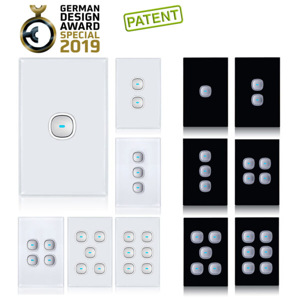 Opal Glass Look | Award Winning Outlet and Switch