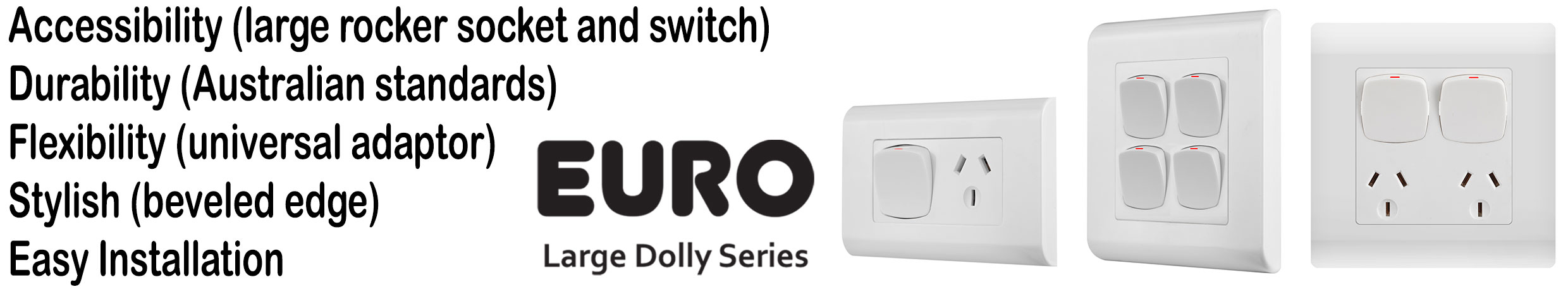 Euro Large Dolly | Outlet and Switch